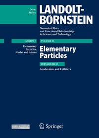 Cover Elementary Particles - Accelerators and Colliders