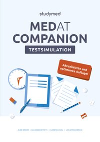 Cover MedAT Companion Testsimulation