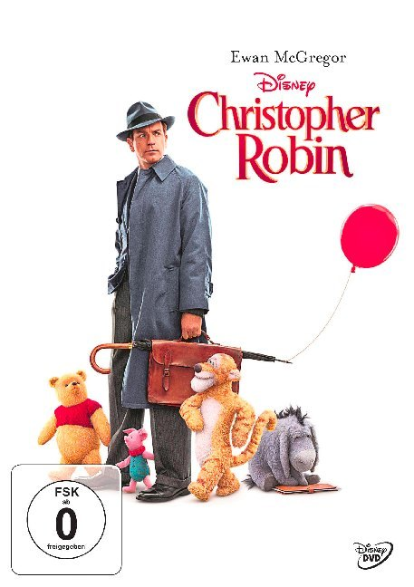 Cover Christopher Robin, 1 DVD