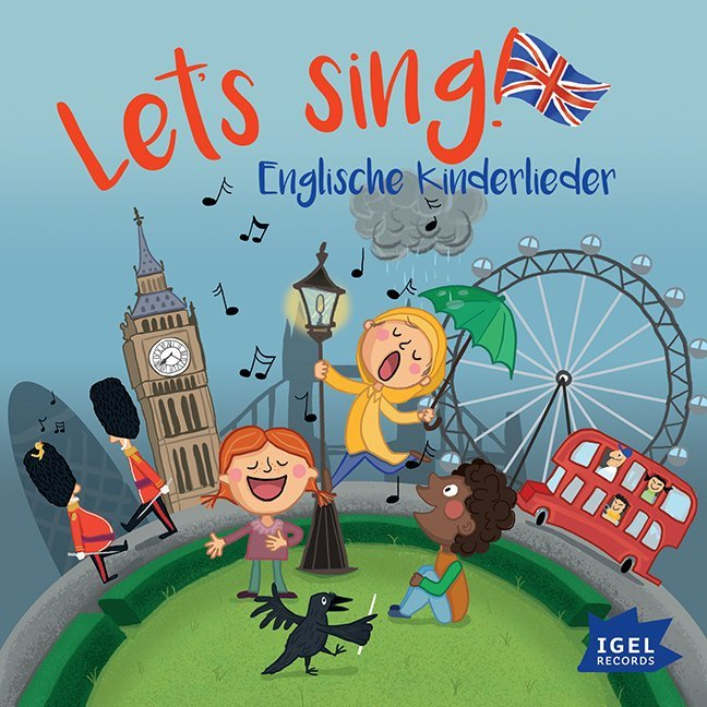 Let's sing! Englische Kinderlieder, 1 Audio-CD