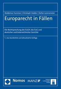 Cover Europarecht in Fällen