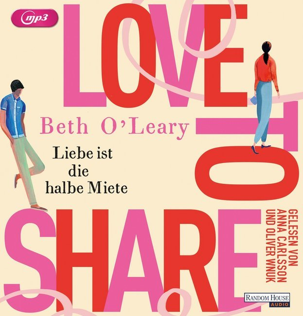 Cover Love to share - Liebe ist die halbe Miete, 2 MP3-CDs