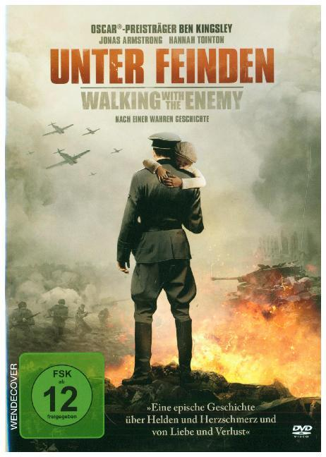 Cover Unter Feinden - Walking with the Enemy, 1 DVD