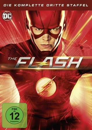 The Flash. Staffel.3, 4 DVDs