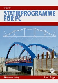 Cover Statikprogramme f?r PC, m. CD-ROM