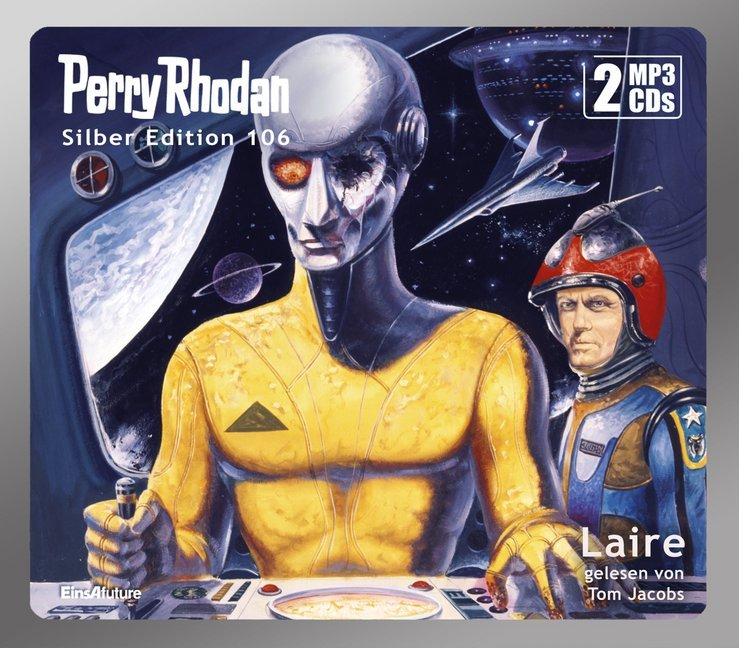 Cover Perry Rhodan Silber Edition - Laire, 2 MP3-CDs