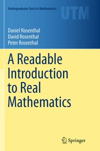 Cover A Readable Introduction to Real Mathematics