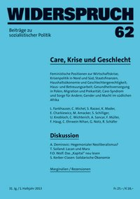 Cover Widerspruch 62