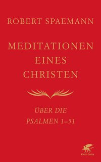 Cover Meditationen eines Christen