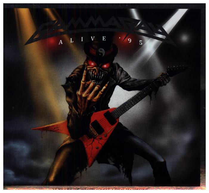 Alive '95, 2 Audio-CDs (Anniversary)