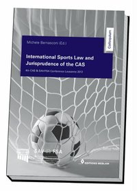 Cover International Sports Law and Jurisprudence of The CAS