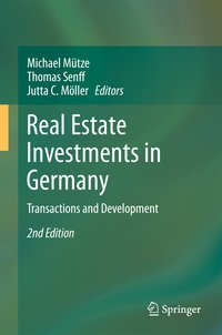 Cover Real Estate Investments in Germany