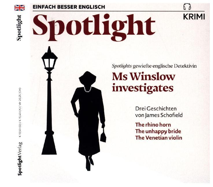 Ms Winslow investigates, 1 Audio-CD