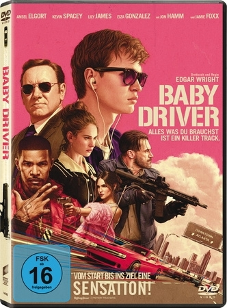 Cover Baby Driver, 1 DVD