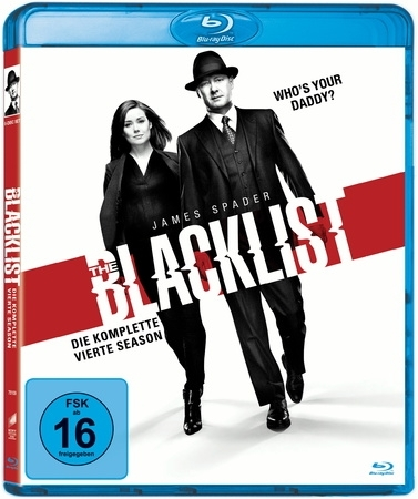 The Blacklist. Season.4, 6 Blu-ray