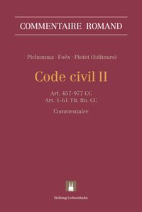 Cover Code civil II