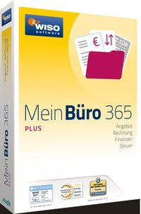 Cover WISO Mein B?ro 365 Plus, CD-ROM