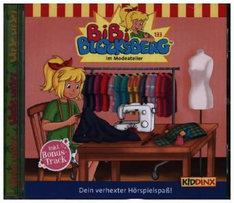 Bibi Blocksberg - Im Modeatelier, 1 Audio-CD