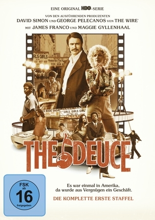 The Deuce. Staffel.1, 3 DVDs