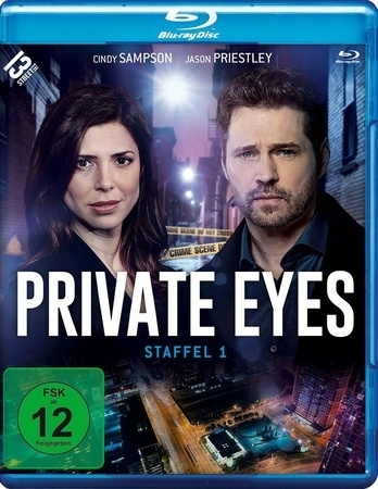 Private Eyes. Staffel.1, 2 Blu-ray