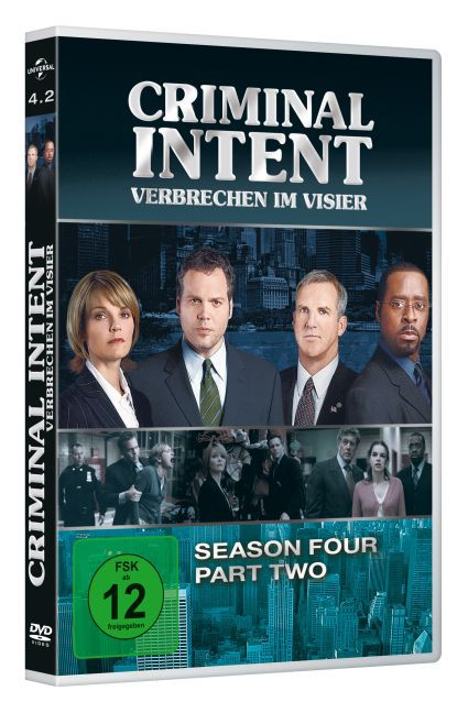 Cover Criminal Intent - Verbrechen im Visier. Season.4.2, 3 DVD