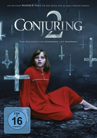 Cover The Conjuring 2, 1 DVD