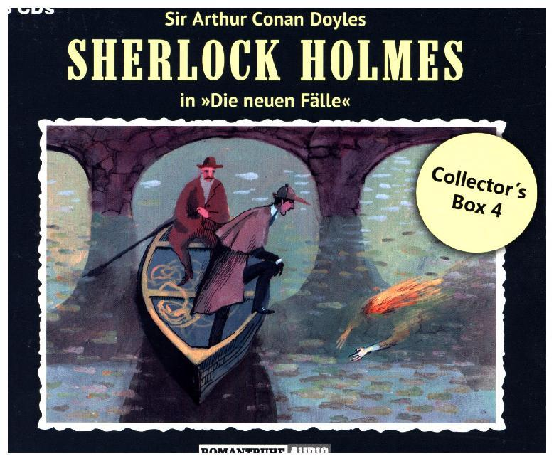 Cover Sherlock Holmes Collector's Box. Box.4, 1 Audio-CD