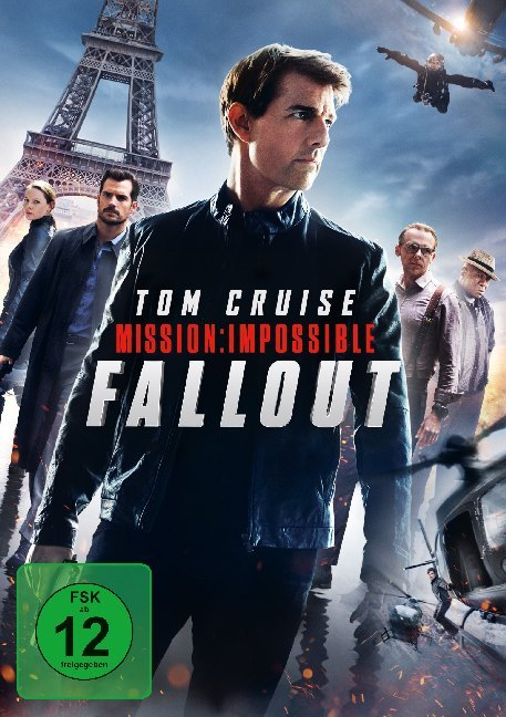 Cover Mission: Impossible 6 - Fallout, 1 DVD