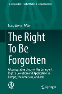 Cover The Right To Be Forgotten