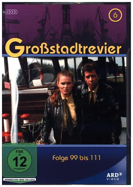 Cover Großstadtrevier. Tl.6, 4 DVD (Softbox)