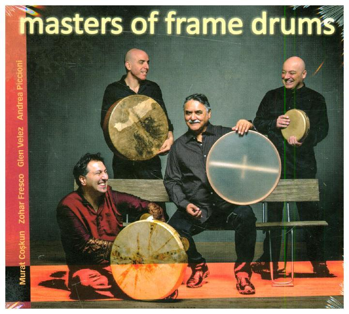 Masters of Frame Drums, 1 Audio-CD