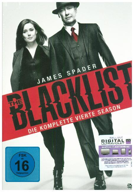 The Blacklist. Season.4, 6 DVD