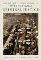 Cover Oxford Companion to International Criminal Justice
