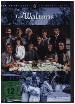 Cover Die Waltons. Staffel.6, 7 DVDs