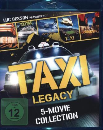 Taxi Legacy - 5 Movie Collection BD