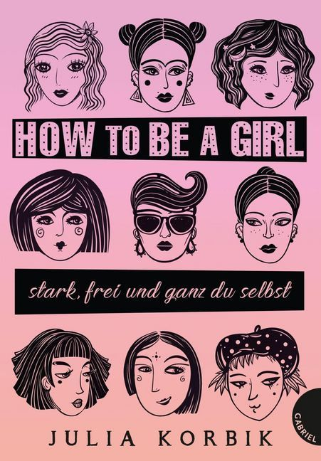 Cover How to be a girl