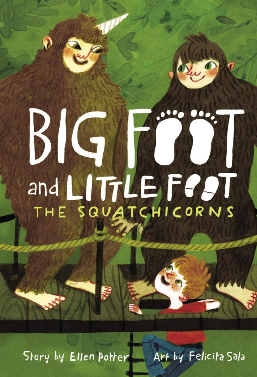 Cover The Squatchicorns (Big Foot and Little Foot #3)