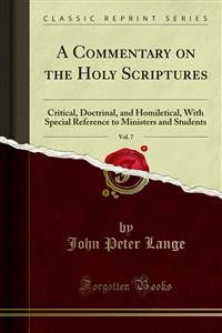 Cover A Commentary on the Holy Scriptures