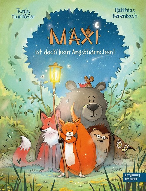 Cover Maxi ist doch kein Angsthörnchen!