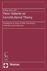 Cover Peter Häberle on Constitutional Theory