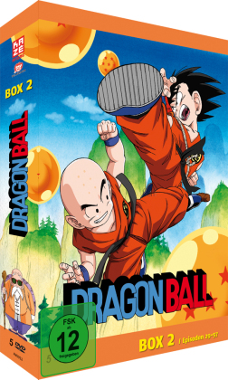 Cover Dragonball, TV-Serie-Box, 5 DVDs. Vol.2