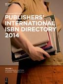 Publishers' International ISBN Directory 2014, 6 Vols.