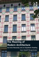 Cover Meaning of Modern Architecture