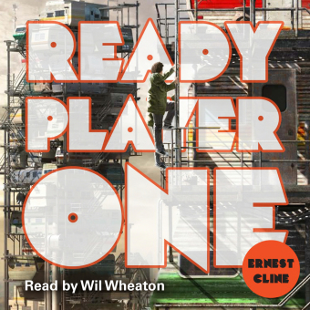 Cover Ready Player One, 14 Audio-CDs