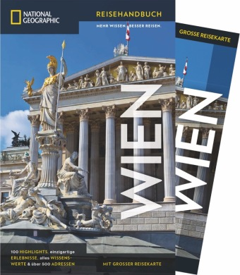 Cover NATIONAL GEOGRAPHIC Reisehandbuch Wien