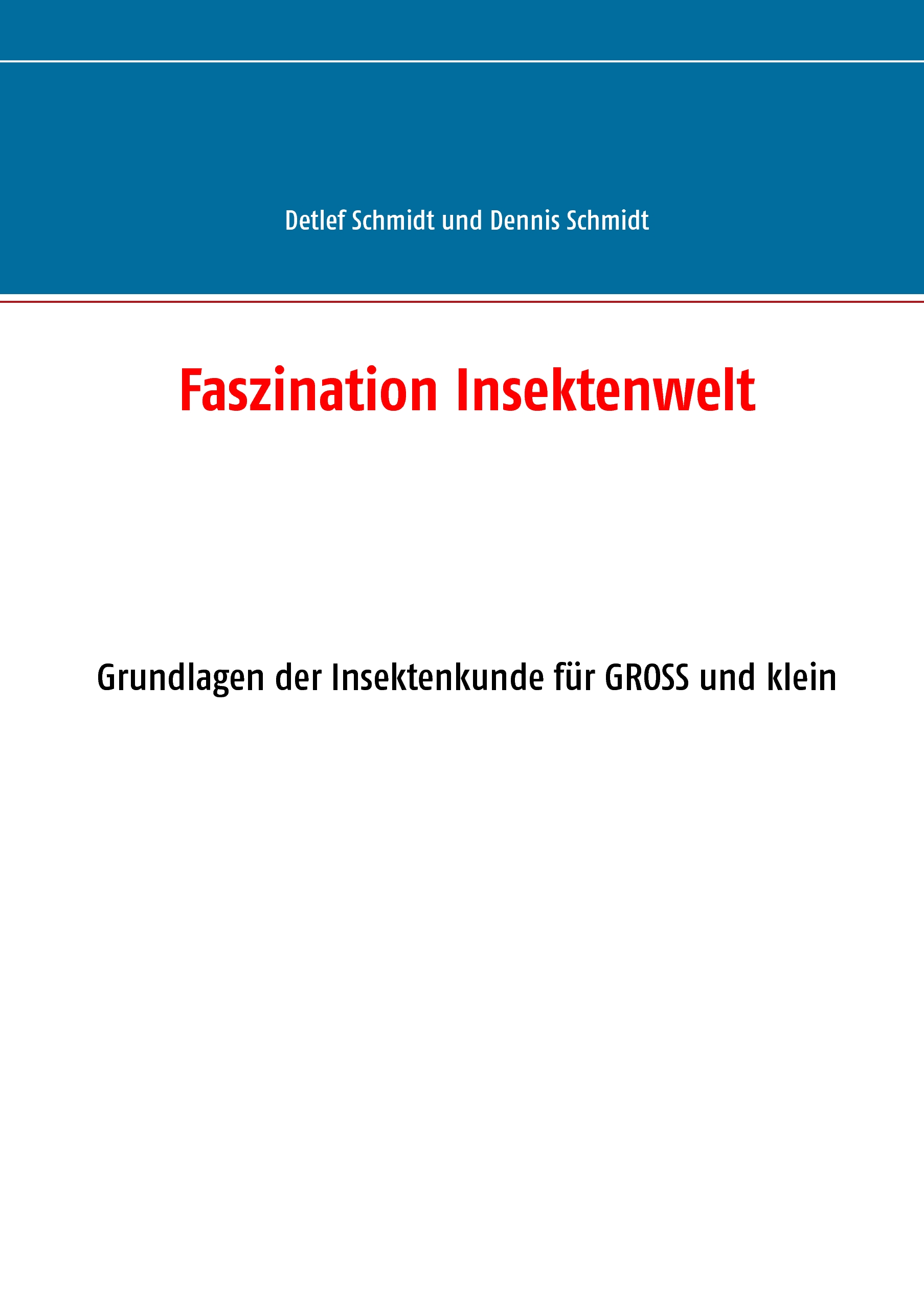 Cover Faszination Insektenwelt