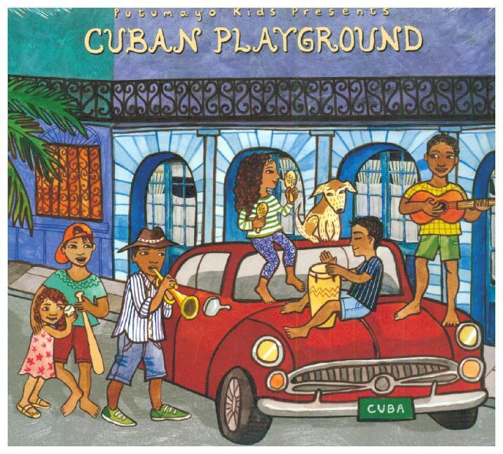 Cuban Playground, 1 Audio-CD