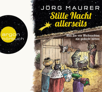 Cover Stille Nacht allerseits, 2 Audio-CD