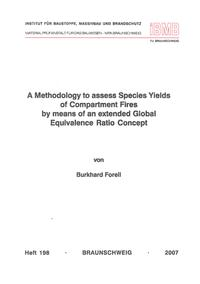 Cover A Methodology to assess Species Yields of Compartment Fires by means of an extended Global Equivalence Ratio Concept
