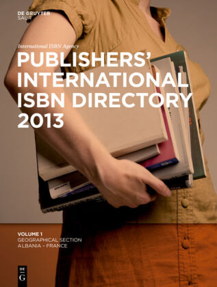 Cover Publishers International ISBN Directory 2013
